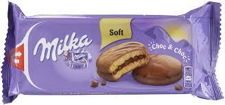 milka choc choc mini kuchen küchlein gefüllt und