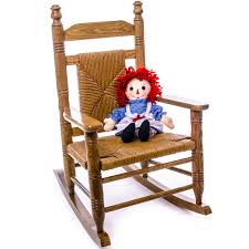 100 Rocking Chair With Books Woven Child Seat Hardwood Home Furniture Indoor