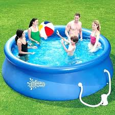 Inflatable Swimming Pool Walmart Above Ground Easy Set Pools Com Summer Escapes X Quick