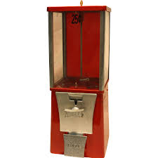 Eagle Capsule or Candy Vending Machine 25 Cent 1 1 2