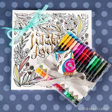 From Hobby Lobby Have Someone Artistic On Your Christmas List Give Them The Gift Of Color And Let