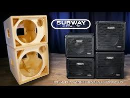 2x10 Bass Cabinet 8 Ohm by Mesa Boogie Subway Bass Cabinet 1 X 12