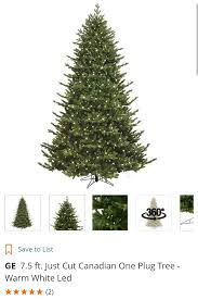 Home Depot Ge Pre Lit Christmas Trees by Ge Canadian Just Cut Tree A Beautiful Christmas Tree With One