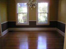 Small 2 Toned Dining Room