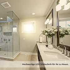 9x evolution led einbaustrahler 7w 700lm ip44 strahler 230v 40 5mm flach wohn und badezimmer schwenkbar 2700k deckenspots einbauspots einbau strahler