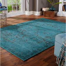 wonderful and dramatic teal area rug the wooden houses