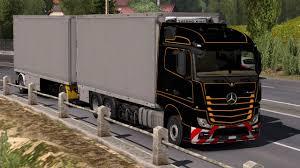 100 Tandem Truck 132 Euro Simulator 2 BDF Pack V 1000 Mods