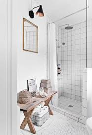 Bathroom Bench Ideas A Traditional Timber Cottage In Demark Has Been Lovingly