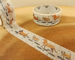 Halloween Washi Tape Australia by Woodland Washi Tape Fairytale Woodland Animals Scrapbooking