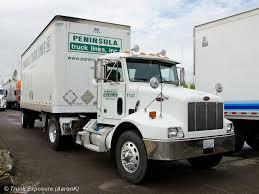100 Peninsula Truck Lines Peterbilt 330 WA Driving Champ Flickr