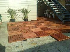 ikea deck tiles patio pick me up pinterest decking patios