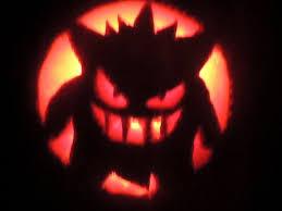 Pikachu Halloween Stencil by Gengar Halloween Pumpkin By Masterofwings On Deviantart