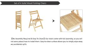 Costway Set Of 4 Solid Wood Folding Chairs Ergonomic Slatted Seat Backrest  Garden Home Furniture Hindoro Handicraft Wooden Folding Chairs Set Of 2 36 Whosale Cheap Solid Wood Chairrocking Chairleisure Chair With Arm Buy Chairfolding Larracey Adirondack Pair Vintage Wooden Folding Chairs Details About Garden 120cm Teak Table 4 Patio Fniture Cosco Gray Fabric Seat Contoured Back Costway Slatted Wedding Baby Cinthia Rocking Gappo Wall Mounted Shower Seats