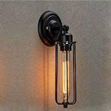 nclon industrielle vintage retro wandleuchte metallkorb american style einstellbar wandle wohnzimmer wohnzimmer innen outdoor korridor len
