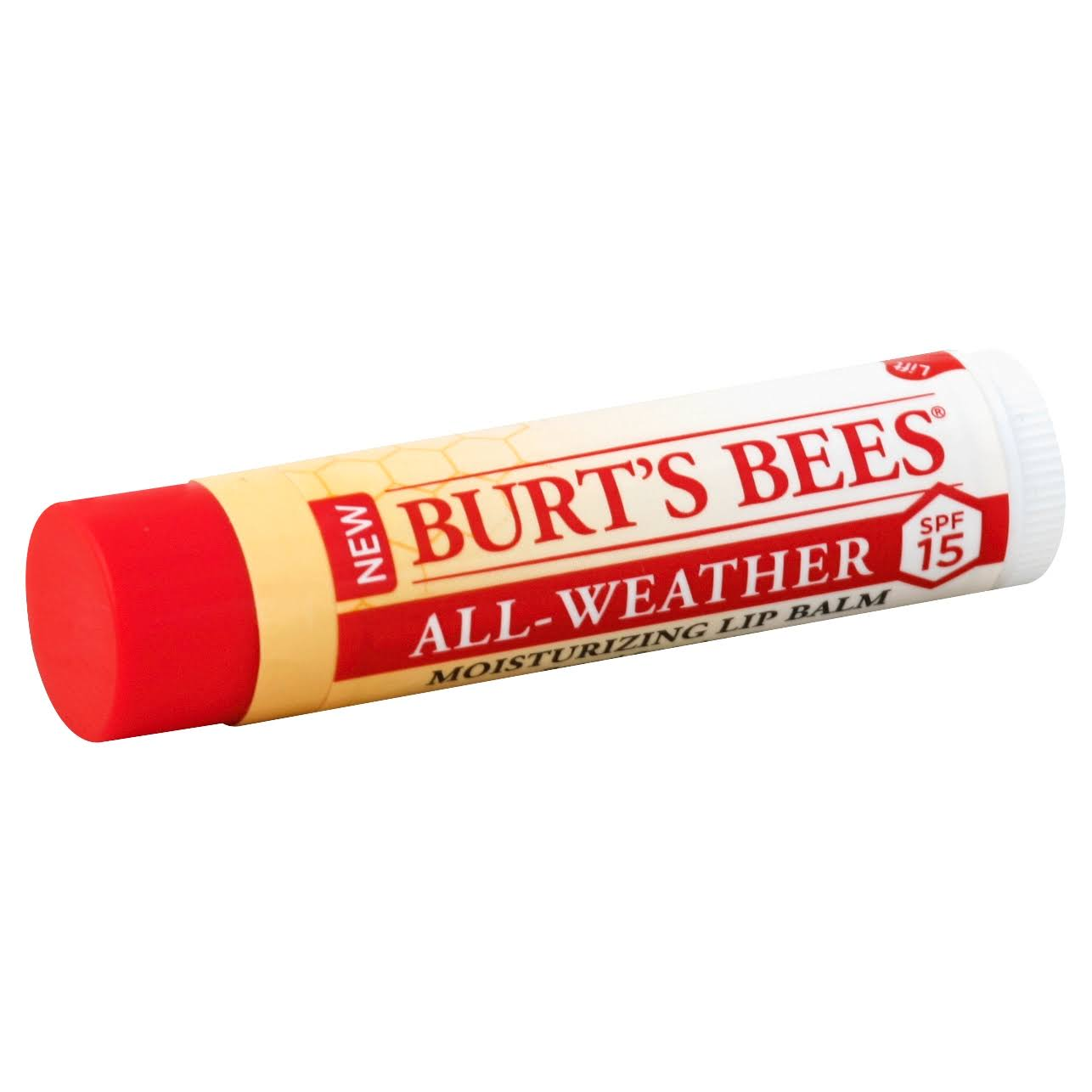 Burts Bees All Weather Moisturizing Lip Balm - SPF 15