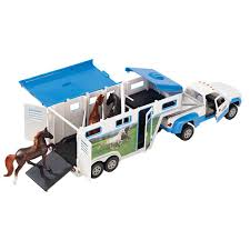 Toy Truck With Gooseneck Horse Trailer - Reeves Intl 5349 - Toys ... Truck Trailer Toy First Gear Peterbilt 351 Day Cab With Dual Dump Trailers Farmer Farm Tractor And Kids Set Onle4bargains 164 Scale Model Truckisuzu Metal Diecast Trucks Semi Hauler Kenworth And Mack Unboxing Big 116 367 W Lowboy By Horse Hay Biguntryfarmtoyscom Bayer Equipment Custom Bodies Boxes Beds Amazoncom Daron Ups Die Cast 2 Toys Games A Camping Pickup