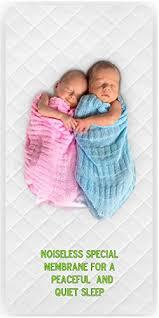 Crib Mattress Protector ORGANIC BAMBOO by Green fy Baby