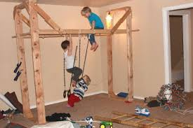 An indoor jungle gym What a great way to stimulate young children s