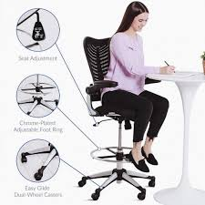 10 Best Standing Desk Chairs & Stools (2019 Update) | #1 ... Fiber Side Chair Swivel W Castors A Modern Scdinavian 3 Ways To Increase The Height Of Ding Chairs Wikihow Nelson Platform Bench Herman Miller 8 Common Office Mistakes Avoid Huffpost Life Soul Seat Fniture For Schools Commercial Markets Scolhouse Art Sitting Posturite Anda Jungle Series Blue Gaming Armchair Wood Base An Embracing Comfort Recliner And Lounge Options Tall People Dgarden The Best Gaming Chairs 2019 Pc Gamer