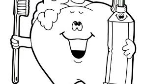 Dentist Coloring Pages For Preschool Dental Preschoolkids