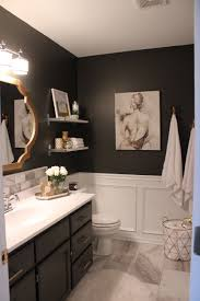 Master Bathroom, Tile, Dark Walls … | My House In 2019… Budget Decorating Ideas For Your Guest Bathroom 21 Small Homey Home Design Christmas Decorating Your Deep Finished Wicker Baskets And Decorative Horse Wall Tile On Walls 120531 Tiles Designs Colors 18 Bathroom Wall Ideas Yellow Decor Pictures Tips From Hgtv Beauteous At With For Airpodstrapco How Important 23 Of And