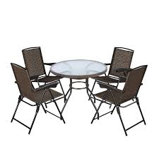 Goplus 5-Piece Bistro Set Outdoor Patio Furniture Weather Resistant Garden  Round Table And 4 Folding Sling Chairs (4 Sling Chairs+Wicker Edge Table) Outdoor Fniture Fabric For Sling Chairs Phifer Cheap Modern Metal Steel Iron Textilener Teslin Stackable Stacking Arm Terrace Bistro Patio Garden Chair Buy Amazoncom Mzx Wicker Tear Drop Haing Gallery Capeleisure1 Lakeview Bocage 7 Piece Cast Alinum Ding Set Bali Rattan Bag On Carousell New Gray Frosted Glass Interesting Target With Amusing Eastern Ottomans Footrest Ftstools Sale Mkinac 40