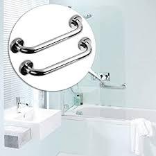 shackcom 2 x sicherheitsgriff für badezimmer edelstahl