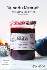 wilde beeren marmelade mit lillet für fleissige wichtel