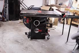my first cabinet saw blood sweat and sawdust