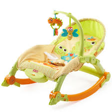 FisherPrice NewbornToToddler Portable Rocker Lizards