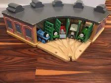 Thomas The Train Tidmouth Shed Layout by Tidmouth Sheds Games Toys U0026 Train Sets Ebay