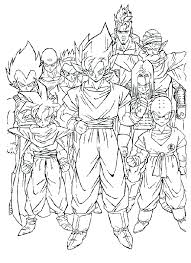 Free Printable Dragon Ball Z Coloring Pages 20 Pageswallpaperspictures