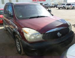 100 Rendezvous Truck 2004 Buick CX SUV Item AO9895 SOLD April 6 V