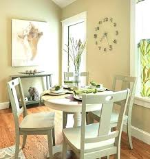 Round Dining Room Table Sets Apt Size Apartment Full Of