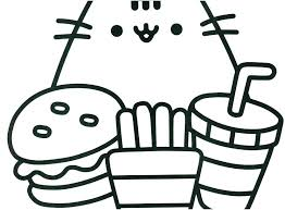 Emoji Coloring Pages Black And White Free Pics Book The Cat Unicorn