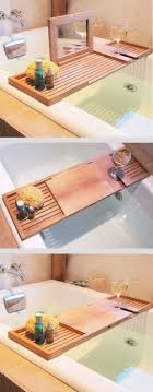 bathroom wonderful bathtub caddy reading rack 45 photo