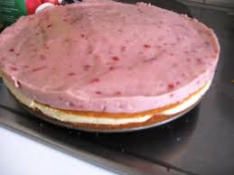 himbeer pudding torte