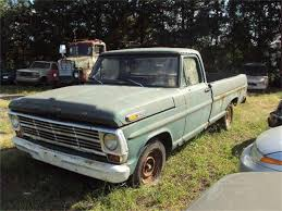 100 1969 Ford Truck For Sale F100 For ClassicCarscom CC1116730