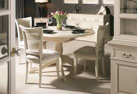 dining room ivory dining table and chairs on dining room in ivory