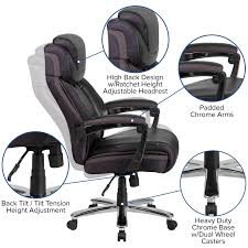 HERCULES Series Big & Tall Leather Executive Swivel Office Chair With  Height Adjustable Headrest Serta Big Tall Commercial Office Chair With Memory Foam Multiple Color Options Ultimate Executive High Back 2390 Lifeform Chairs Charcoal Fabric Padded Flip Arms 12 Best Recling Footrest Of 2019 Safco Serenity And Highback Hon Endorse Hleubty4a Adjustable Arms Lazboy Leather Galleon 2xhome Black Deluxe Professional Pu Ofm Fniture Avenger Series Highback Onespace Admiral Iii Mysuntown Bonded Swivel For Users Ergonomic Lumbar Support