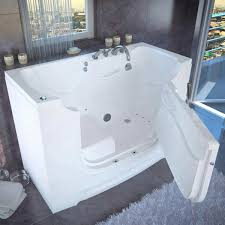 Jetted Bathtubs For Two by Access Tubs Wheelchair Accessible Slide In Tub With Air Bubble Massage