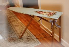 Ironing Board Cabinet With Storage by Wooden Ironing Board Cute Scale 1 12 Dollhouse Miniature Iron With