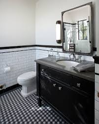 industrial wall sconce in bathroom traditional with metal