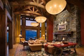 Rustic Living Room Decorating Idea 12