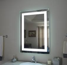 backlit bathroom cabinet lighted bathroom vanity mirror medicine