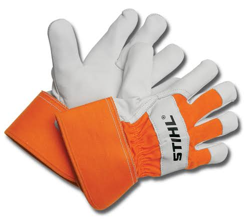 Stihl Heavy Duty Work Gloves - Orange, X-Large