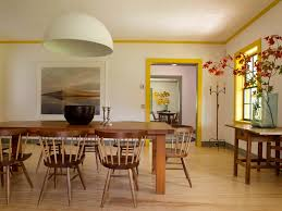 Pop Design Dining Room Farmhouse With Plaster Walls Pine Floors
