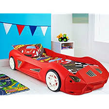Lighting Mcqueen Toddler Bed by Disney Cars Lightning Mcqueen Toddler Bed By Hellohome Amazon Co