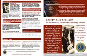 Safety And Security For The Business Professional Traveling Abroad