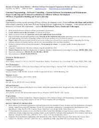 Dot Net Resume Sample Junior Developer For